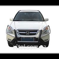 Honda CRV 2002-2006 защита переднего бампера, металл, A150000