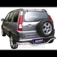 Honda CRV 2002-2006 защита заднего бампера, металл D150201