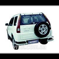 Honda CRV 2002-2006 защита заднего бампера, металл D150012