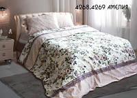 Евро бязевый комплект постельного белья, 4268 Амелія