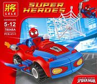 Конструктор Lele Super Heroes аналог (LEGO Super Heroes) SPIDER-MAN