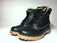 Зимнее кожаные ботинки Timberland