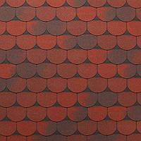 Битумная черепица Tegola Super Traditional Красный гранит