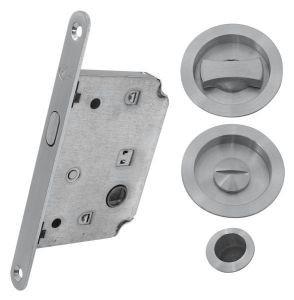 4120 SC Комплект для раздвижных дверей мат.хром