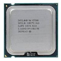 Процессор Intel Core2Duo E7300 2.66GHz LGA775 отличное состояние