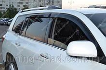 Ветровики окон Тойота Хайлендер 2 (дефлекторы боковых окон Toyota Highlander 2)