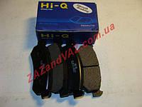Колодка тормозная задняя HI-Q Корея Лачетти Lacetti до 2007 г. дисковая оригинал sp1160