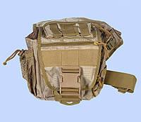 Тактическая сумка на плече - Coyote