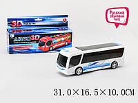 Автобус на батарейках JH-961музичний 31*16,5*10 см