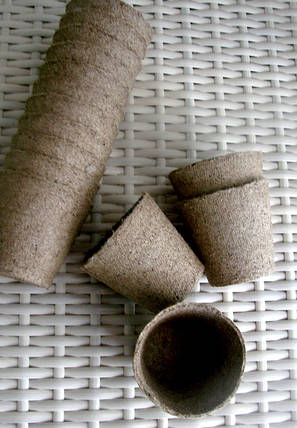 Торфяные горшки для выращивания рассады 6*6 см, Jiffy, Дания, круглые, фото 2