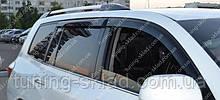 Ветровики окон Тойота Хайлендер 3 (дефлекторы боковых окон Toyota Highlander 3)