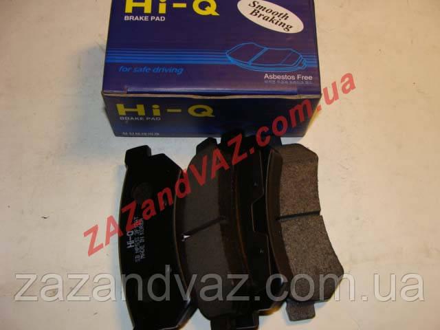 Колодка тормозная задняя HI-Q Корея Лачетти Lacetti после 2007 г. дисковая оригинал SP1257