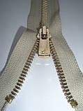 Молния металлическая разъемная  30см, тип 5 YKK EXCELLA® , 1 бегунок, фото 4