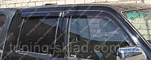 Ветровики окон Тойота Хайлюкс 7 рестайл (дефлекотры боковых окон Toyota Hiluxe 7)