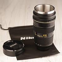 Кружка-объектив Nikon (металлическая), фото 1