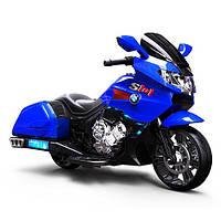 Электромотоцикл BMW от Bambi M 3277EL-4 синий