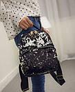 Рюкзак с пайетками хамелеон черный., фото 6