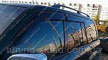 Ветровики окон Тойота Ленд Крузер 100 (дефлекторы боковых окон Toyota Land Cruiser 100)