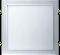 LED Светильник Встраиваемый BIOM (квадрат) 24W 3000K Алюминий 2400Lm