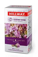 Черный чай Hillway с чабрецом 25 пакетиков