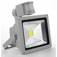 LED прожектор SMD Slim 30W SMD5630 (с Датчиком Движения) BIOM