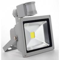 LED прожектор SMD Slim 10W SMD5630 (с Датчиком Движения) BIOM