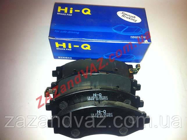 Колодка тормозная передняя HI-Q Ланос Lanos 1.6 оригинал SP1102