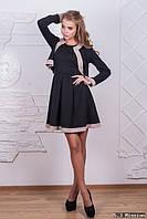 Женский костюм платье без рукавов+жакет д-500069