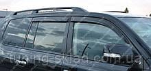 Ветровики окон Тойота Ленд Крузер 200 (дефлекторы боковых окон Toyota Land Cruiser 200)