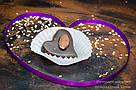 """Шоколадные конфеты ручной работы """"Марципановое сердце"""",1 шт, 20 г., фото 5"""