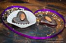 """Шоколадные конфеты ручной работы """"Марципановое сердце"""",1 шт, 20 г., фото 6"""