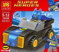 Конструктор Lele Super Heroes аналог (LEGO Super Heroes) Batman