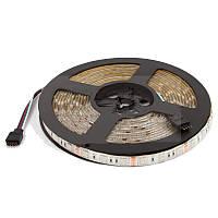 Светодиодная лента RGB SMD5050, 60 светодиодов, 12 В DC, 1 м, IP20