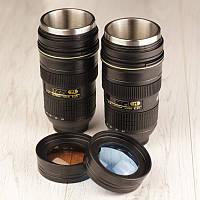 Кружка Nikon с линзой - термо чашки объективы., фото 1