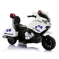 Электромотоцикл M 3277EL-1P Белый Police