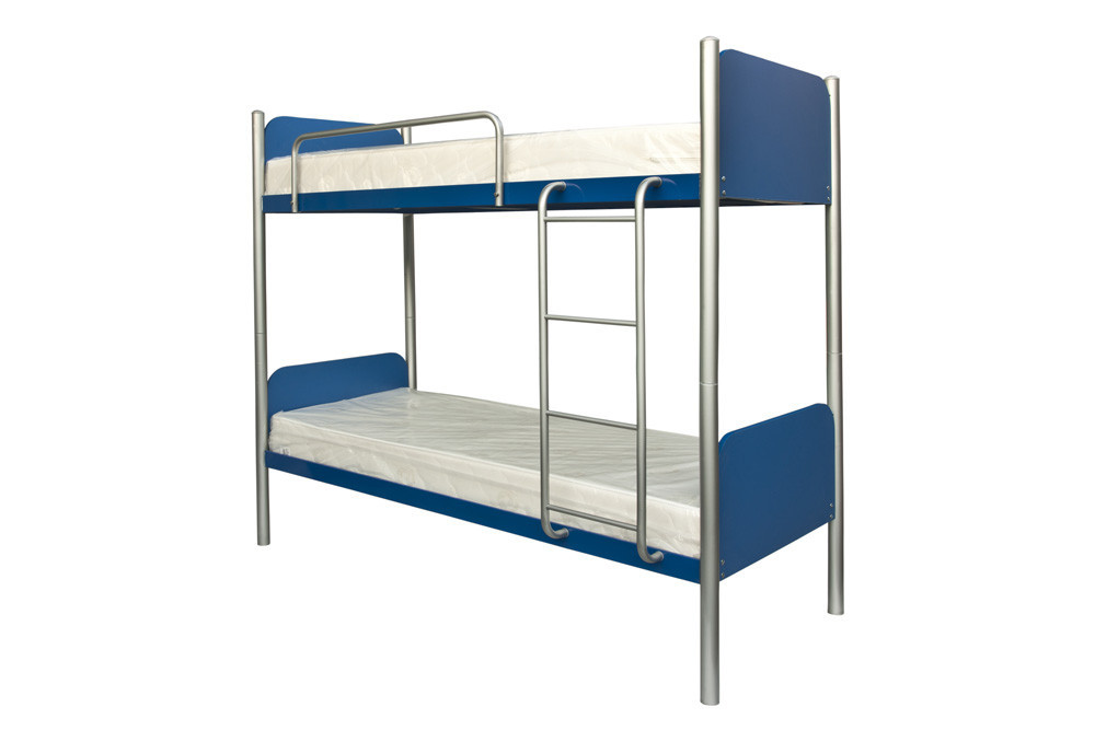 Арлекино кровать двухъярусная металлическая 900х2000 мм