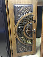 Входная дверь со стеклопакетом