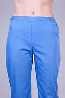 Батистовые медицинские штаны синего цвета. Опт и розница