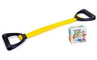 Эспандер для фитнеса латексный(3 жгута)плечевой PS-380(A)