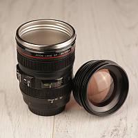 Чашка-объектив Canon EF 24-105 с линзой
