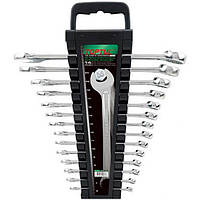 Набор ключей комбинированных 14 шт. 6-24мм TOPTUL GAAC1401