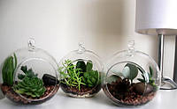 Шар стеклянный подвесной, фото 1