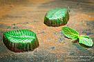 """Шоколадные конфеты ручной работы """"Мятные листочки"""", 1 шт, 20 г., фото 4"""