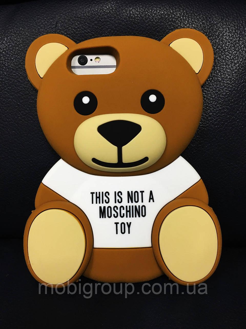 Чехол Moschino Bear Медведь для iPhone 6SPlus/6Plus, Мишка