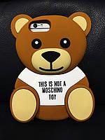 Чехол Moschino Bear Медведь для iPhone 6SPlus/6Plus, Мишка, фото 1
