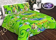 Детский комплект постельного белья в кроватку №дсм33