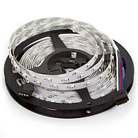 Светодиодная лента RGB SMD3528, 60 светодиодов, 12 В DC, 1 м, IP20