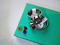 Женское кольцо Bvlgari булгари (копия) 18 серебро