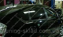 Ветровики окон Тойота Приус 3 (дефлекторы боковых окон Toyota Prius 3 XW30)