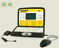 Детский ноутбук с диском и мышью  8856E/R 160 функций, фото 1